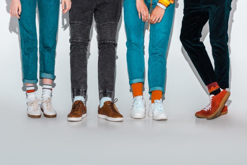 Mens Shoes Jeans