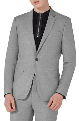 Men's Topman Skinny Fit Suit Jacket