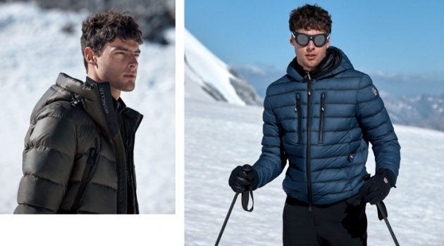 Hannes Gobeyn Hits the Slopes in Moncler for Matches Fashion