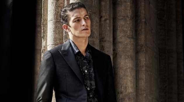 Oli Lacey Dons Elegant Tuxedos for How to Spend It