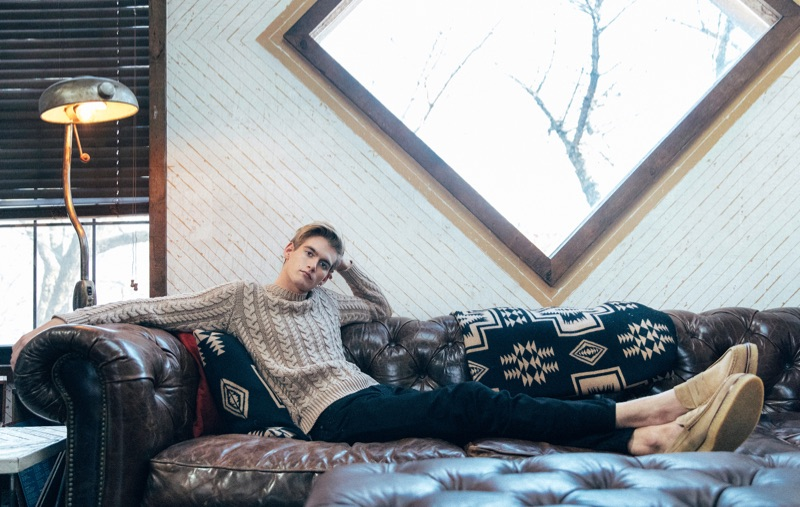 Presley Gerber Dons Tod's for Relaxed Paper Shoot