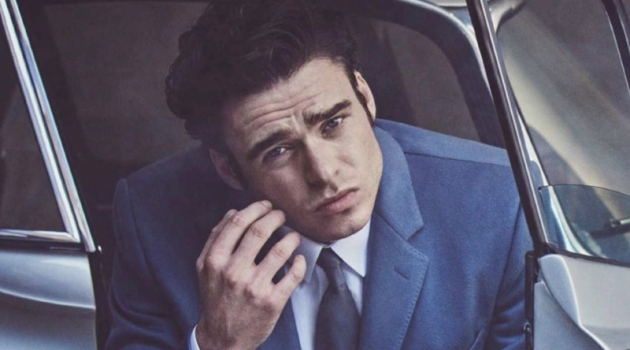 Richard Madden Stars in British GQ Cover Shoot, Discusses 'Bodyguard'