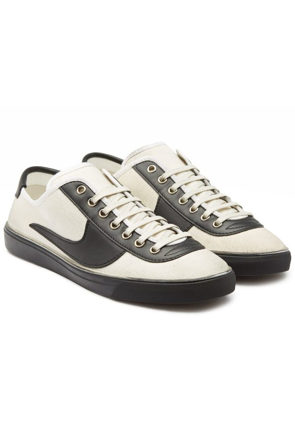 Saint Laurent Andy Sneakers with Leather