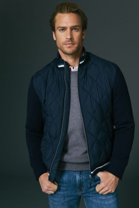 Jason Morgan Dons Classic Style from Scappino Fall '18 Collection