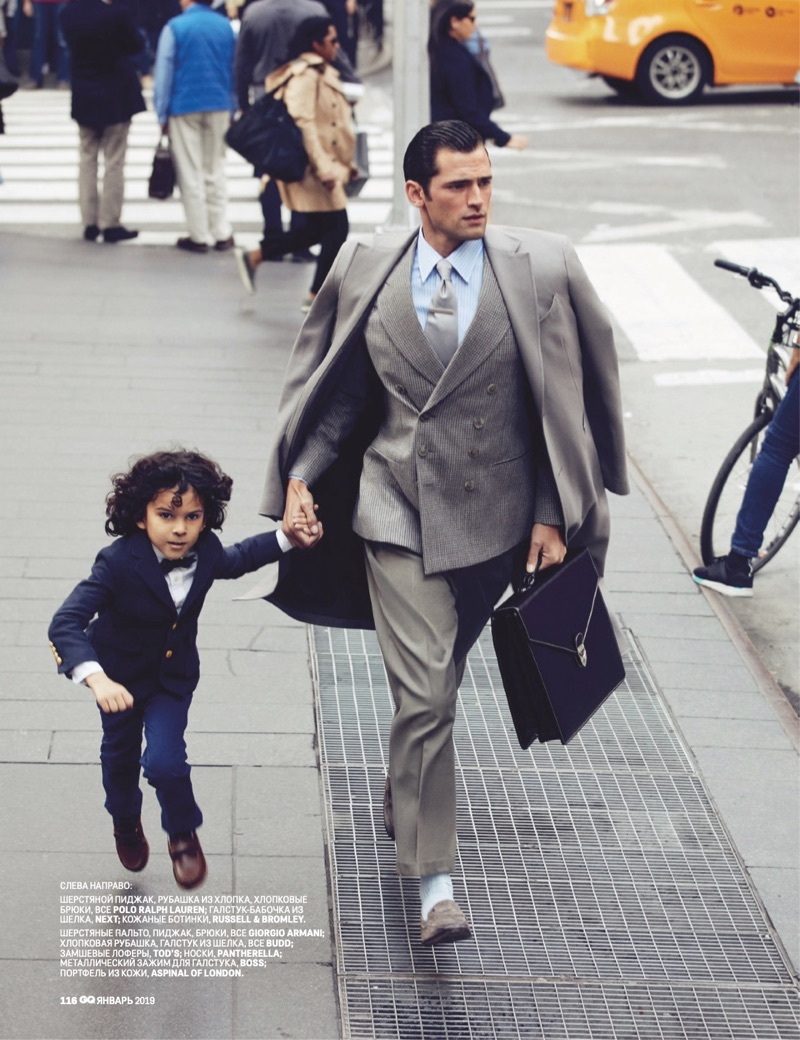 Sean O'Pry is Dad Goals for GQ Russia
