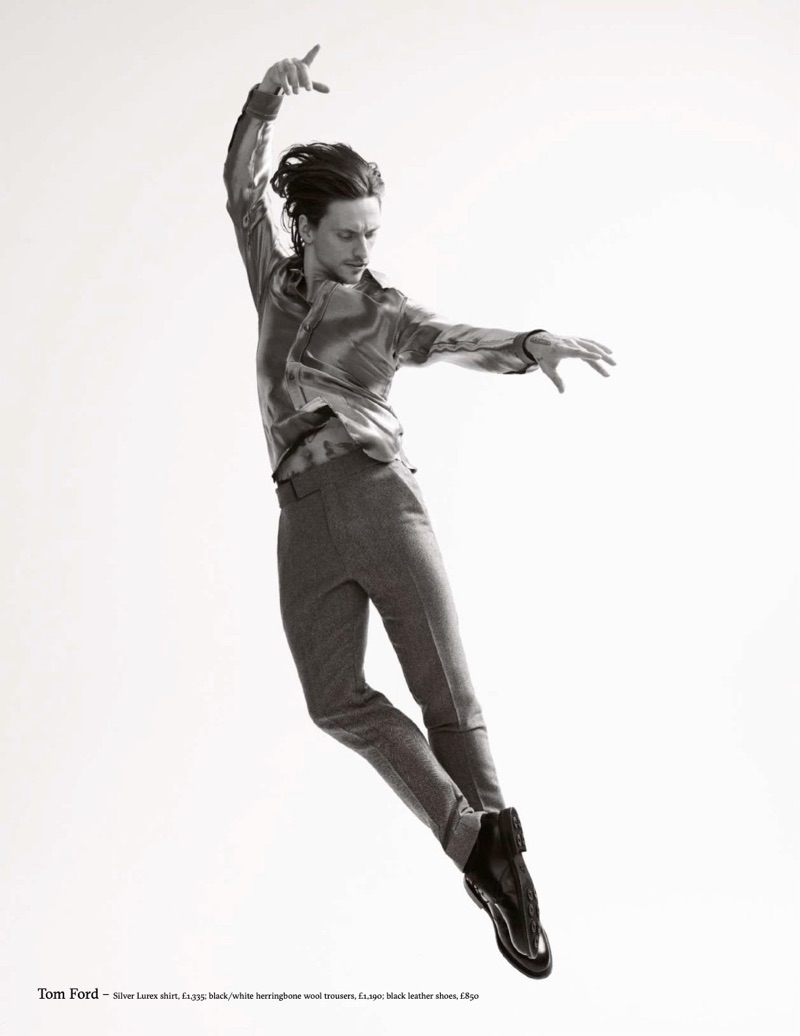 Dancing to a New Beat: Sergei Polunin for Esquire UK