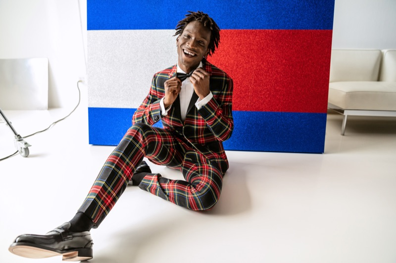 Tommy Hilfiger connects with Adonis Bosso for its holiday 2018 campaign.
