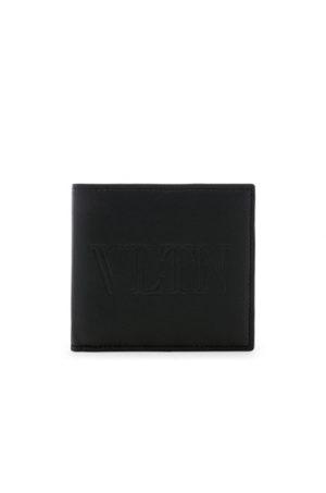 Valentino Billfold Wallet in Black.