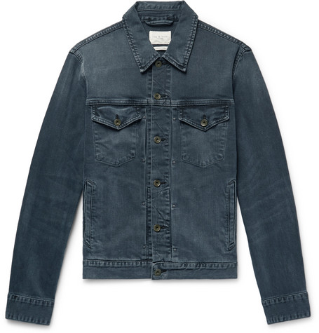 rag & bone - Definitive Indigo-Washed Denim Trucker Jacket - Men - Dark denim