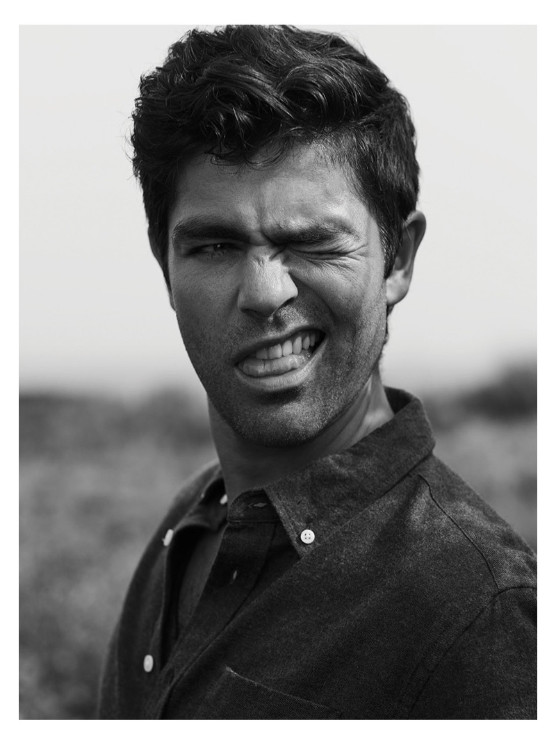 Alive magazine connects with Adrian Grenier for a feature.