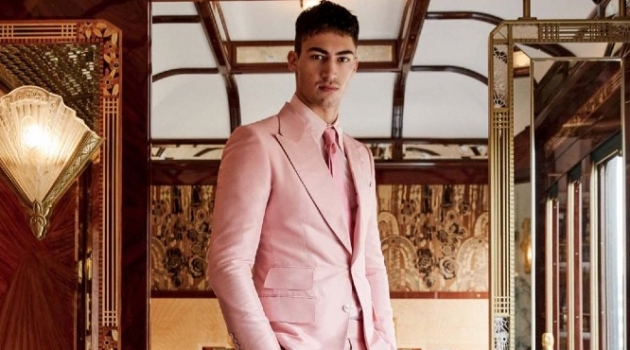 Alessio Pozzi Takes the Venice Simplon-Orient-Express in Style for Attitude