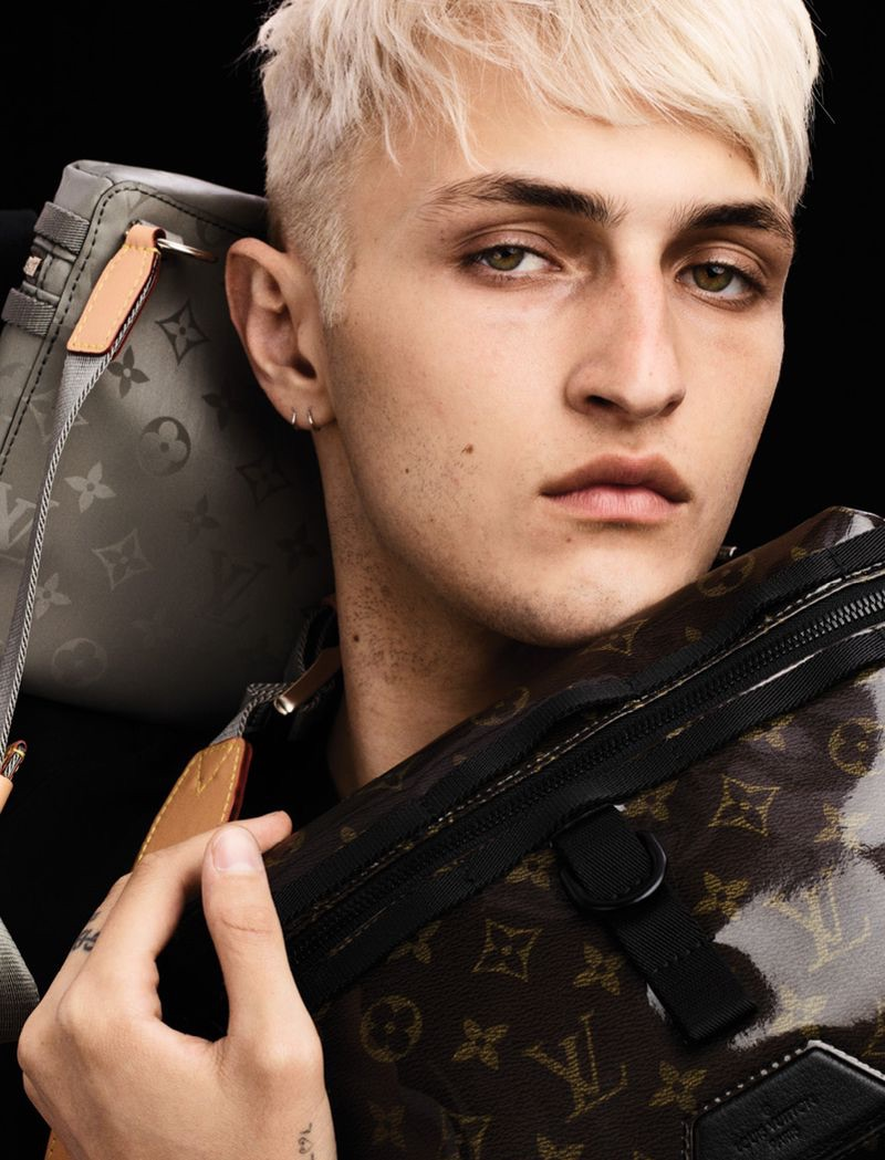 Anwar Hadid is All About Labels for VMAN