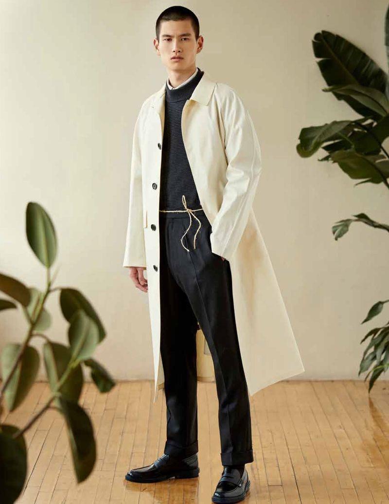 Morten Nielsen & Kohei Takabatake Model BOSS for Vogue Ukraine Man