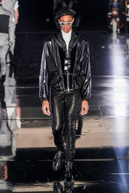 Balmain Goes Dark for Dramatic Fall '19 Collection