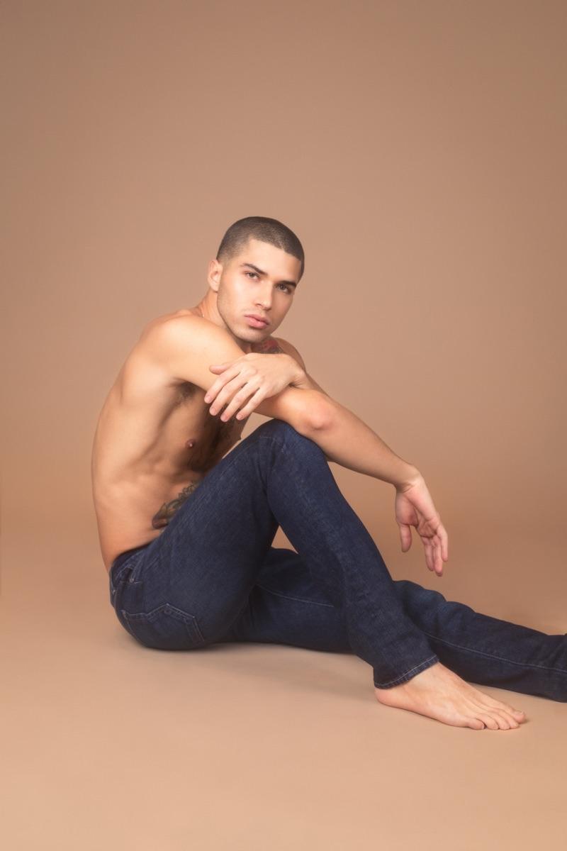 Daniel wears Baldwin jeans.