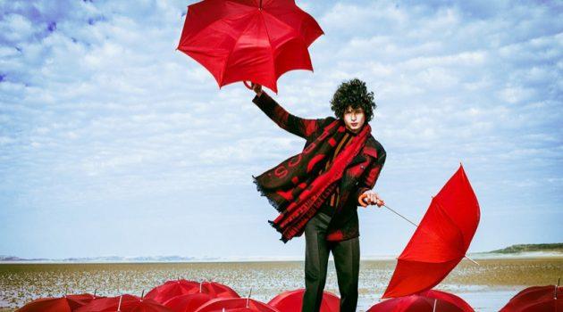 Djavan Mandoula is Blown Away for Men's Health Germany Best Fashion