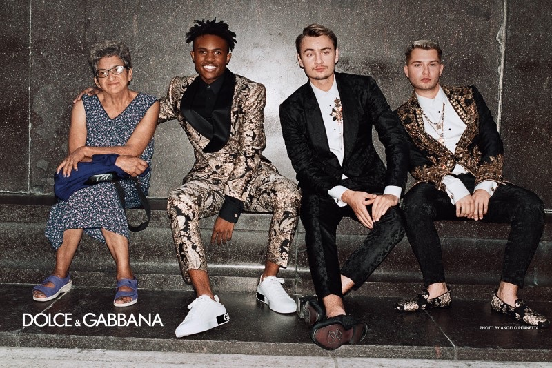 Kailand Morris, Brandon Thomas Lee, and Rafferty Law star in Dolce & Gabbana's spring-summer 2019 campaign.