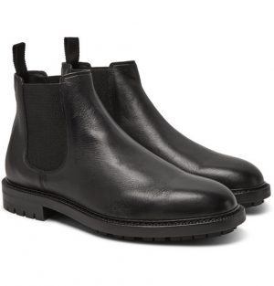 Dolce & Gabbana - Full-Grain Leather Chelsea Boots - Men - Black