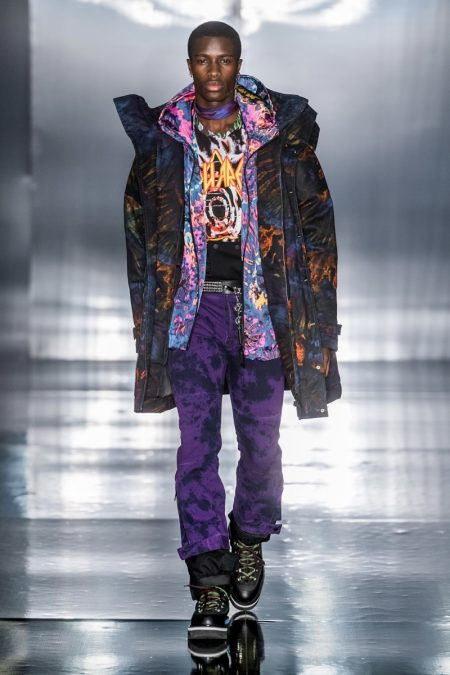 Dsquared2 Delivers Psychedelic Grunge Fall '19 Collection