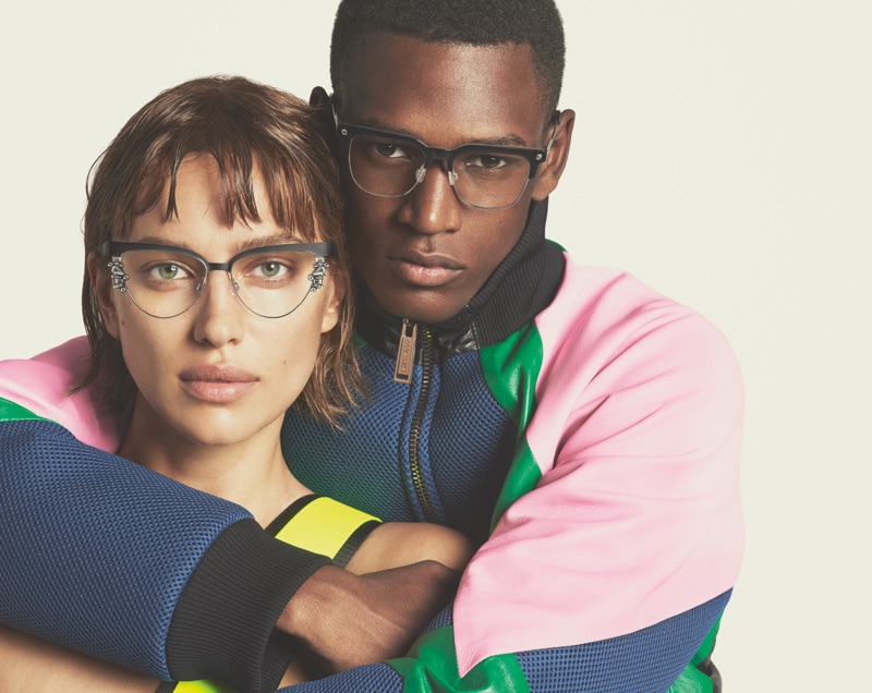 Irina Shayk and Paulo Spencer star in Dsquared2's spring-summer 2019 eyewear campaign.