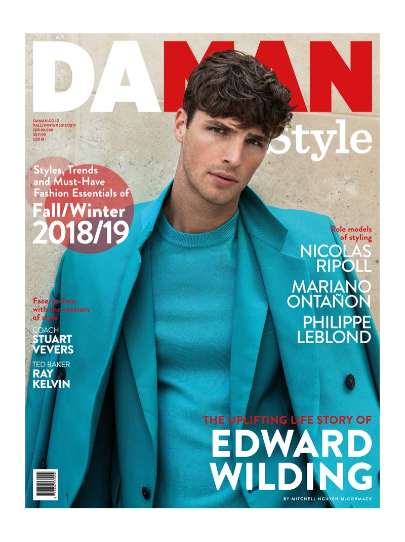 Edward Wilding Makes a Splash in Designer Looks for Da Man Style