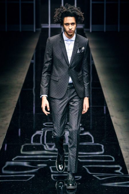Emporio Armani Serves Up Winter Inspirations with Fall '19 Collection