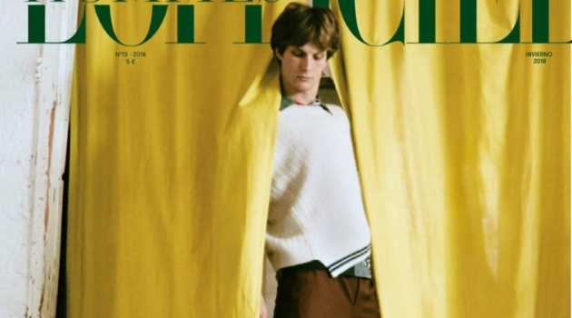 Felix Gesnouin is the Center of Attention for L'Officiel Hommes España