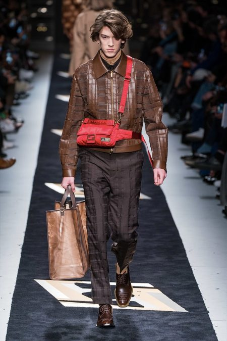 Fendi Appeals to Easy Luxury with Fall '19 Collection