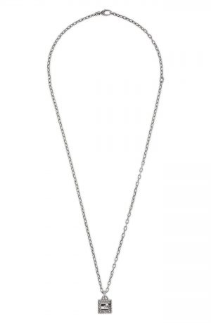 Gucci G-Cube Pendant Necklace