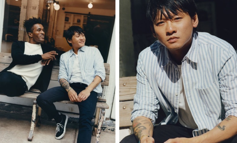 H&M enlists Darryl Westly and Chi Wong for a fresh start to the new year.