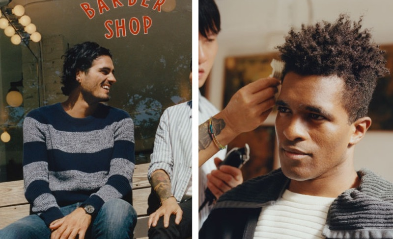 Victor Bill and Darryl Westly catch up with H&M in new styles.