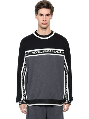 Hashtags Cotton Sweatshirt