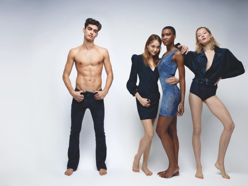 Rankin photographs Jitrois' spring-summer 2019 campaign.