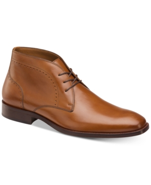Johnston & Murphy Men's Sanborn Chukka Boots Men's Shoes