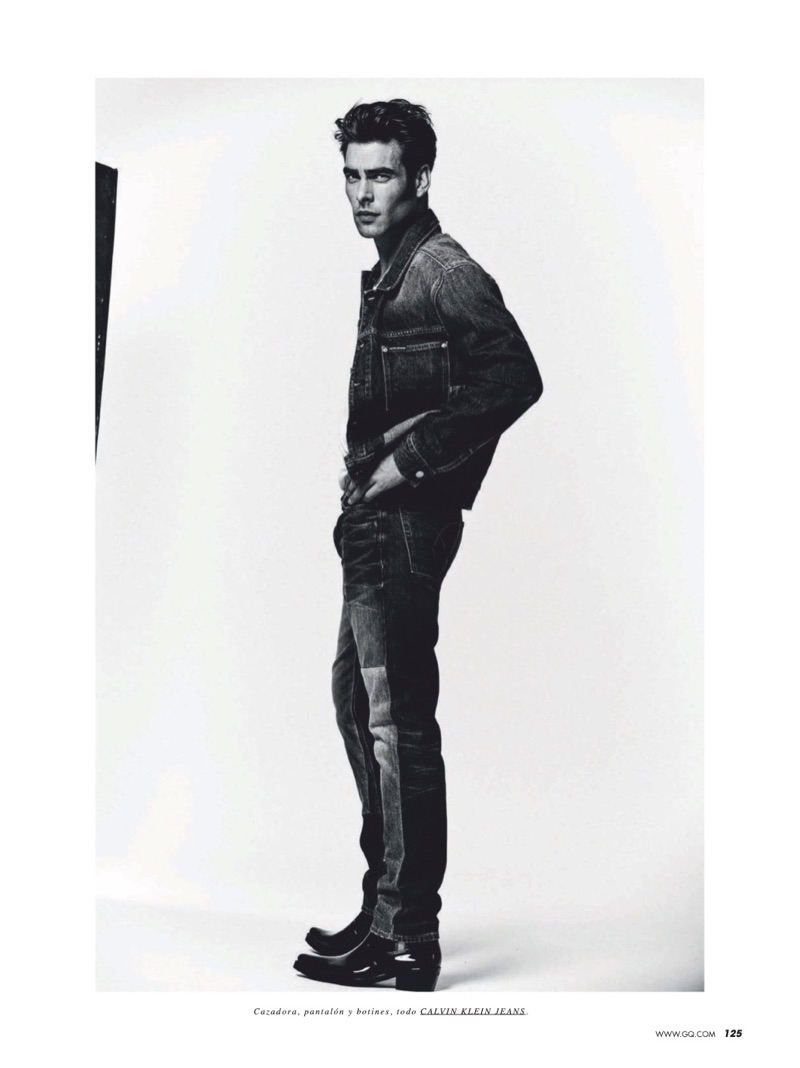 Jon Kortajarena Rocks Denim for GQ España Cover Story