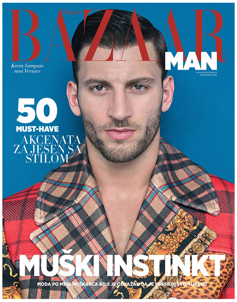 Kevin Sampaio Dons Quirky Styles for Harper's Bazaar Man Serbia