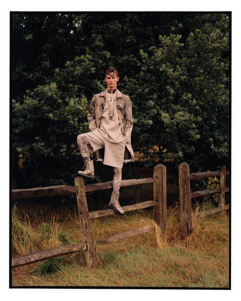 Kit Butler Dons Louis Vuitton for Manifesto Cover Story