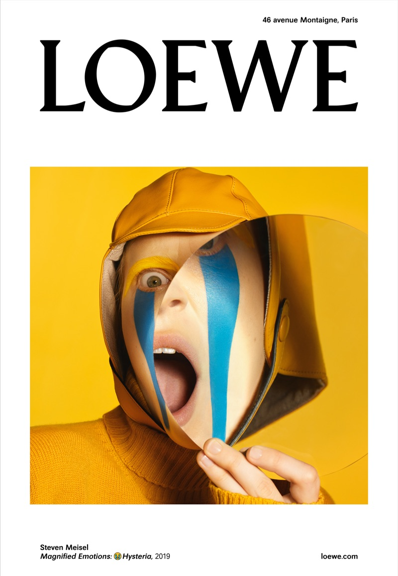 Julia Nobis fronts Loewe's fall-winter 2019 campaign.