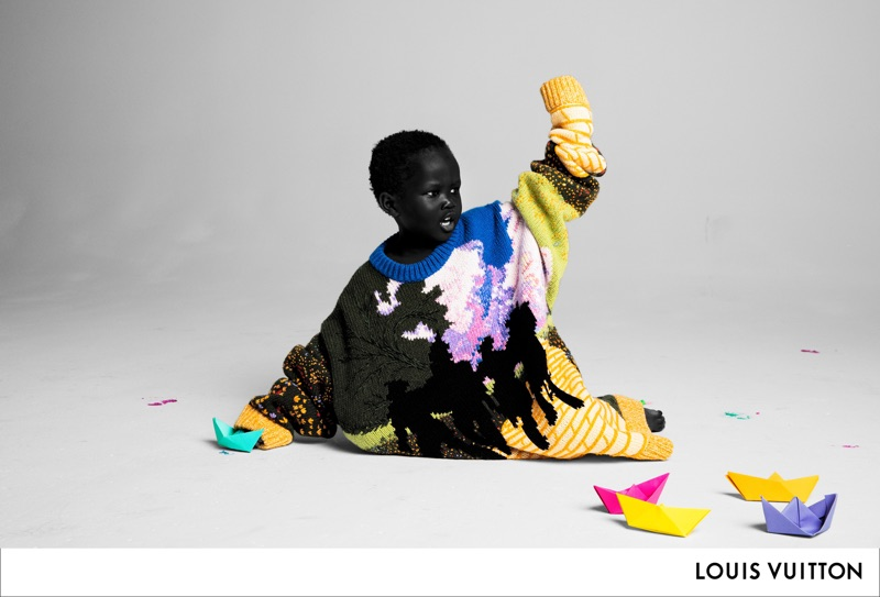 Virgil Abloh makes his stamp on Louis Vuitton with the brand's spring-summer 2019 men's campaign.