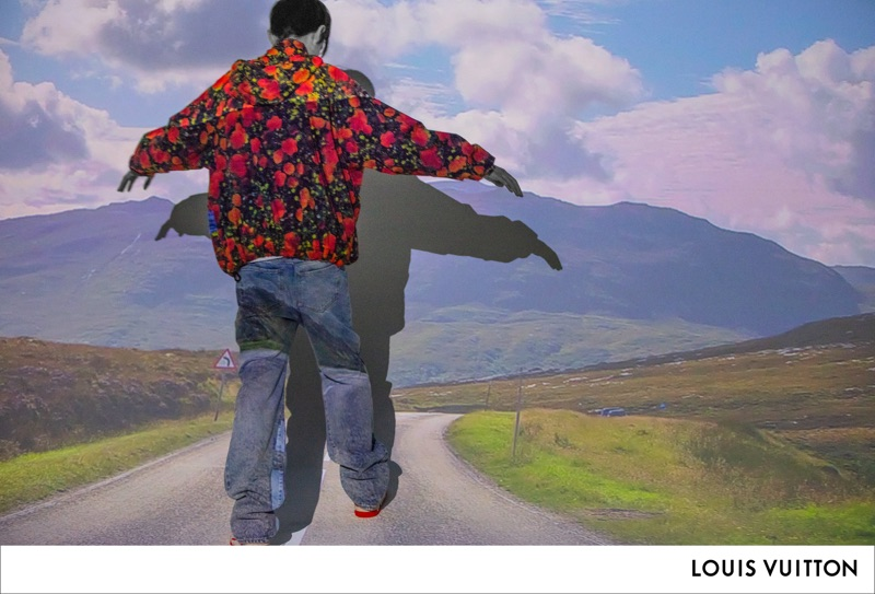 Louis Vuitton taps Luke Prael to appear in its spring-summer 2019 men's campaign.