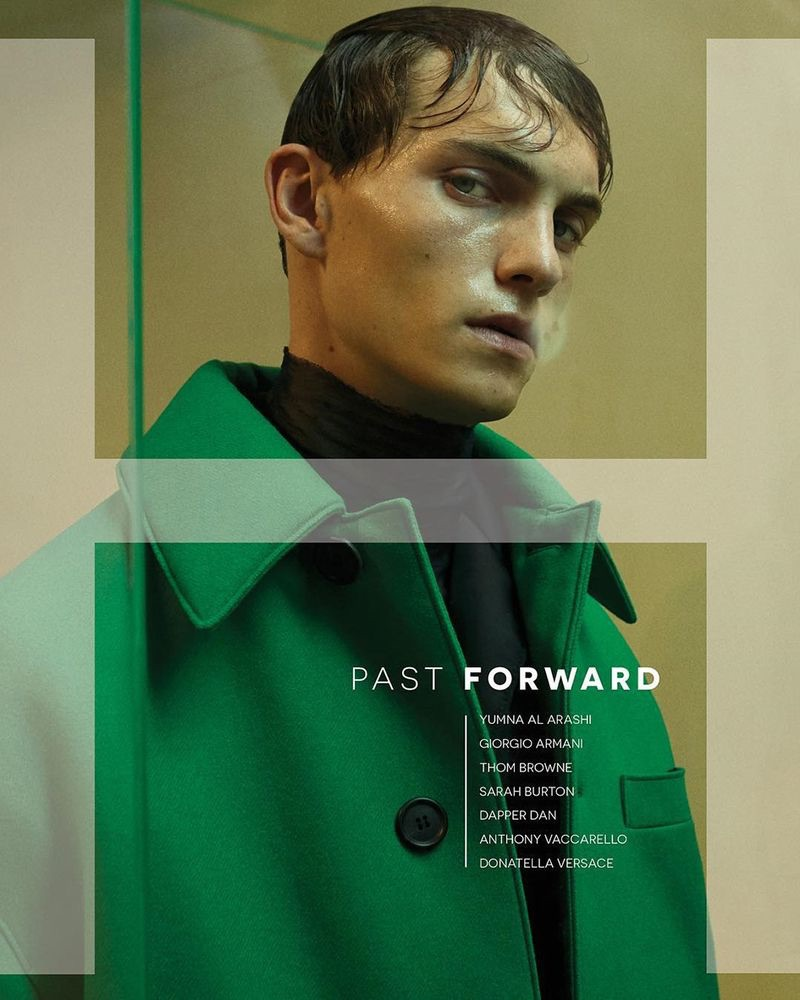 Extinction: Luc Defont-Saviard Stars in H Magazine Cover Story