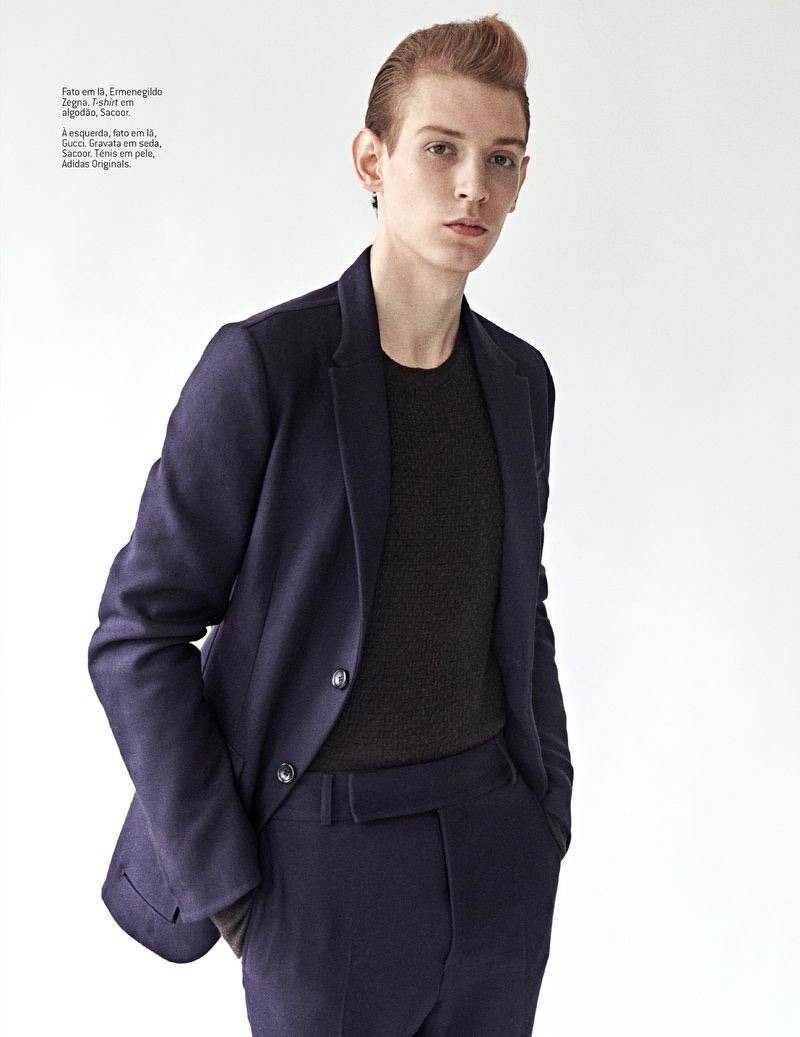 Never-Ending Coolness: Lucas Dambros for GQ Portugal