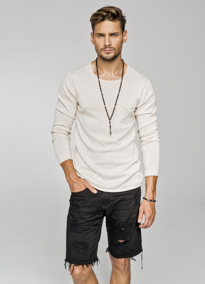 Male Model Trendy Outfit