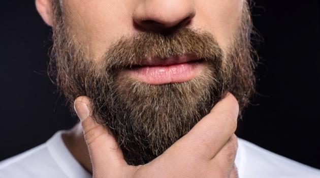Man Beard Closeup