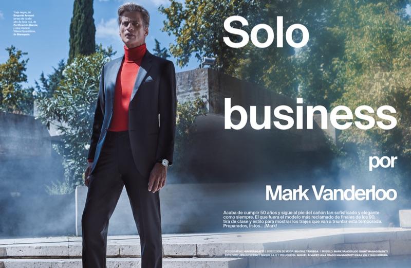 Mark Vanderloo Suits Up for Código Único
