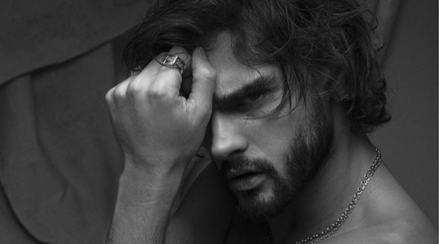 Marlon Teixeira appears in an editorial for L'Officiel Hommes Korea.