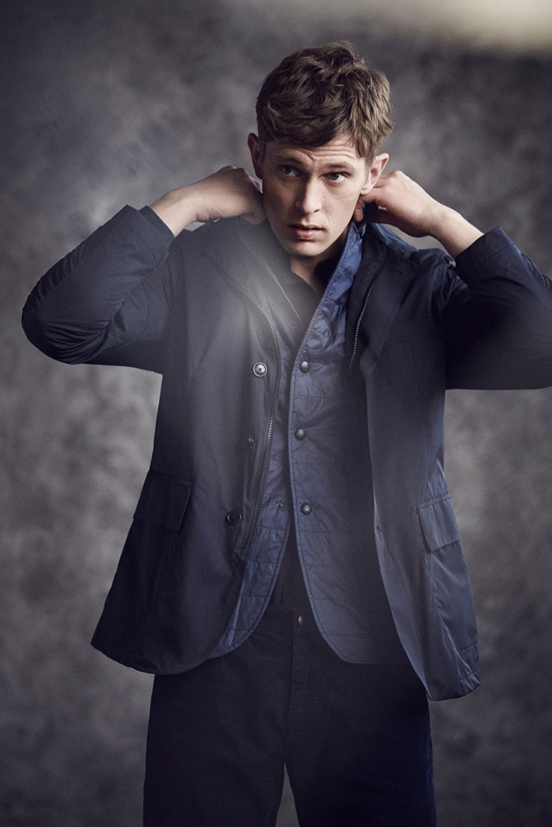 Massimo Dutti enlists Mathias Lauridsen to star in its latest style edit.