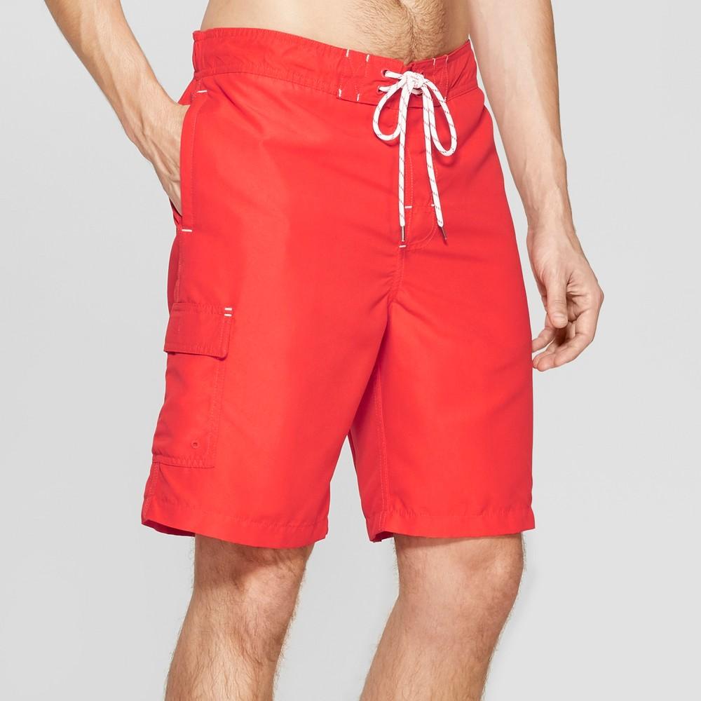 df62b5a1dc Men's 9 Swim Trunks – Goodfellow & Co Red XL | The Fashionisto