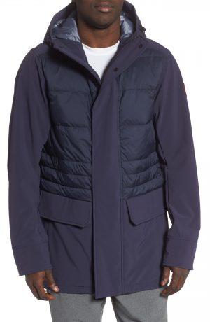 Men's Canada Goose Breton 675-Fill Power Down Coat, Size Small - Blue