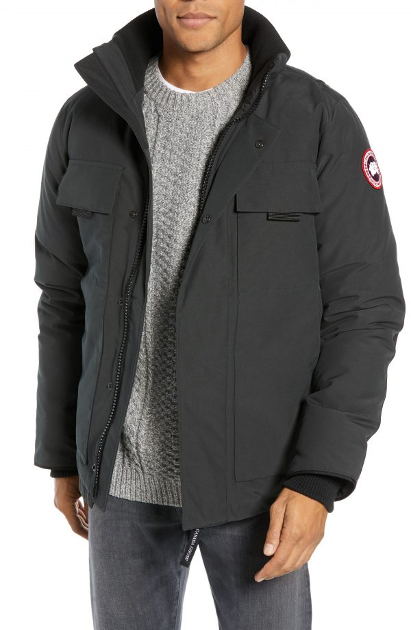 Men's Canada Goose Forester Slim Fit Jacket, Size X-Small - Black